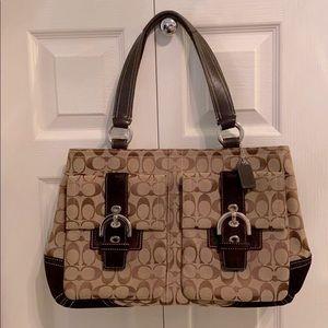 Perfect condition authentic Coach satchel